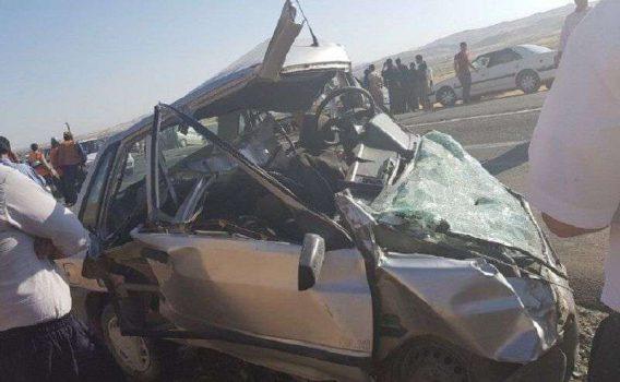 تصادف تلخ جاده ای و مطالبه از شهاب نادری نماینده اورامانات در مجلس