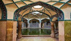 شکوه معماری کرمان در حمام گنجعلیخان