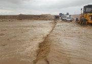 آخرین وضعیت سیلاب در سیستان و بلوچستان / مردم برخی روستا ها تا کمر در آب فرو رفته اند
