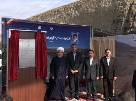 قطعات ۲ و ۳ آزاد راه شهید همت – کرج افتتاح شد