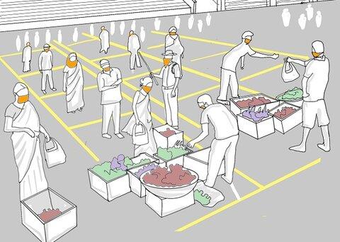 فاصله اجتماعی با شهرسازی تاکتیکی