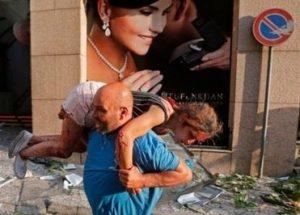 تصاویر بیروت پس از حادثه ۴ آگوست
