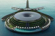 قطری ها و یک جاذبه گردشگری جدید: هتل شناور گردان دوستدار محیط زیست (+عکس)